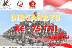 Dirgahayu TNI Ke 75