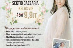 Promo Heboh! Persalinan SC VIP Hanya dengan 9,9jtan!!!