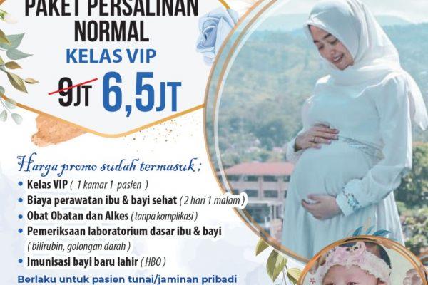 Promo Kaget! Paket Persalinan Normal VIP Cuma 6.5jtan!!!