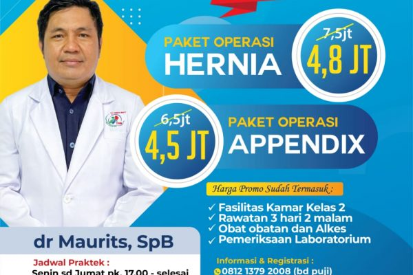 Paket Bedah Bersama dr. Mauritz Sp.B